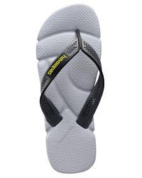 Havaianas - Gray Power Flip Flops for Men - Lyst