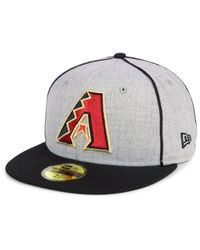 KTZ - Multicolor Arizona Diamondbacks Stache 59fifty Fitted Cap for Men - Lyst