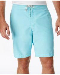Tommy Bahama | Blue Men's Baja Poolside Swim Trunks for Men | Lyst