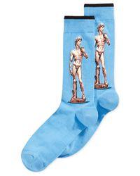 Hot Sox | Blue Men's David Socks for Men | Lyst