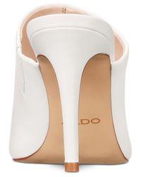 ALDO White Mirudien Dress Sandals
