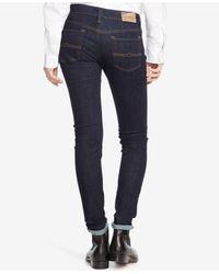 Denim & Supply Ralph Lauren - Blue Skinny Dark Denim Jeans - Lyst