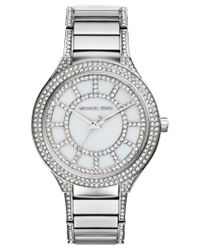 Michael Kors - Metallic 38mm Kerry Glitz Bracelet Watch - Lyst