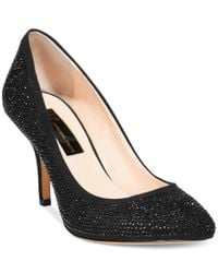 INC International Concepts   Black Zitah Pointed Toe Rhinestone Evening Pumps, Only At Macy's   Lyst