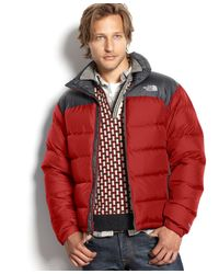 The North Face | Red Men's Nuptse Fill-down Jacket for Men | Lyst