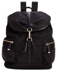 Calvin Klein | Black Talia Dressy Nylon Backpack | Lyst