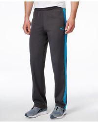 PUMA - Blue Men's Tricot Contrast Track Pants for Men - Lyst