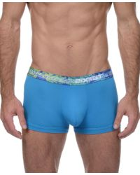 2xist | Blue 2(x)ist Men's Tropic No-show Trunks for Men | Lyst