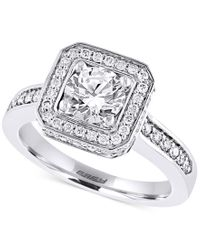 Effy Collection - Metallic Effy Diamond Ring (1-5/8 Ct. T.w.) In 14k White Gold - Lyst