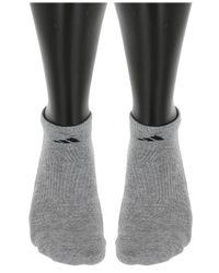 Adidas Gray 6 Pack Climalite No-show Socks for men