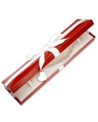 Giani Bernini | Metallic Heart Tag Chain Bracelet In Sterling Silver | Lyst