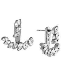 Vince Camuto | Metallic Marquis Ear Jacket Earrings | Lyst