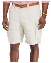 Polo Ralph Lauren   White Men's Big And Tall Classic Gellar Cargo Short for Men   Lyst