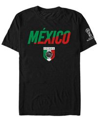 Lyst - Fifth Sun Mexico National Team Gym Wedge World Cup T-shirt in ... 0d3f98c03