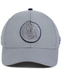Adidas Dallas Mavericks Gray Color Pop Flex Cap for men