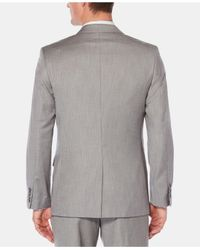 Perry Ellis Metallic Texture Suit Jacket for men