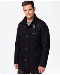 Cole Haan Black Melton Jacket for men