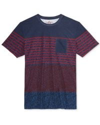 American Rag - Blue Men's Seasonal Stripe T-shirt, Only At Macy's for Men - Lyst