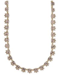Givenchy - Metallic Silky Crystal Choker Necklace - Lyst