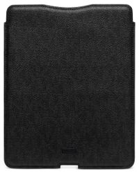 Michael Kors | Black Electronics Shadow Signature Tablet Sleeve for Men | Lyst