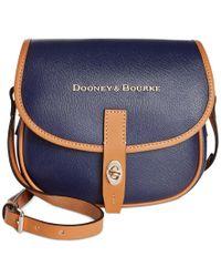 Dooney & Bourke Blue Claremont Field Bag
