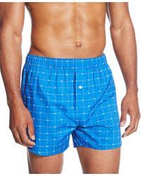 Lacoste | Blue Men's Croc Boxers 2-pack for Men | Lyst