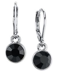 2028 | Metallic Round Crystal Drop Earrings | Lyst