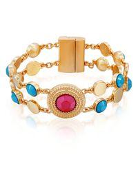 Nanette Nanette Lepore Metallic Line Bracelet