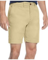 Tommy Hilfiger | Natural Custom-fit Chino Shorts for Men | Lyst