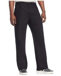 Sean John Black Original-fit Garvey Jeans for men