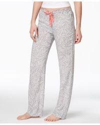 Calvin Klein - Gray Pajama Pants - Lyst