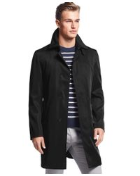 Calvin Klein | Black Mail Extra Slim-fit Raincoat for Men | Lyst