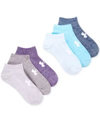 Under Armour White Women's 6-pk. Liner No Show Socks