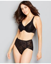 Wacoal Black Clear And Classic Underwire Bra 855244