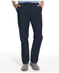 Tommy Hilfiger | Blue Men's Classic-fit Chino Pants for Men | Lyst