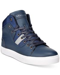 Sean John Blue Procida Hi-top Sneakers for men