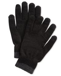 Alfani - Black Texting Gloves, Created For Macy's - Lyst