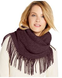 INC International Concepts | Purple Side Fringe And Shine Loop, Only At Macy's | Lyst