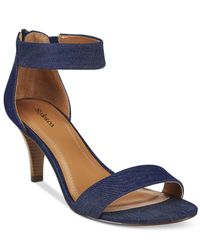 Style & Co. | Multicolor Paycee Two-piece Dress Sandals, Only At Macy's | Lyst
