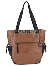 The Sak | Brown Kendra Leather Work Tote | Lyst