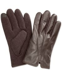 Polo Ralph Lauren | Brown Hand-stitched Nappa Touch Glove for Men | Lyst