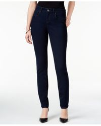 Style & Co. | Blue Curvy-fit Skinny Jeans, Only At Macy's | Lyst