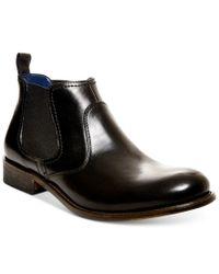 Steve Madden | Black Men's Banford Chelsea Boots for Men | Lyst
