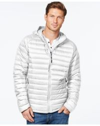 32 Degrees - White Packable Hooded Down Jacket for Men - Lyst