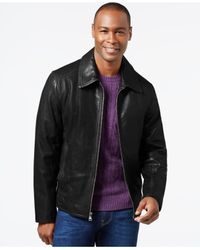 Marc New York | Black Leather Jacket for Men | Lyst