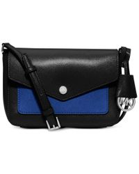 Michael Kors | Black Michael Greenwich Small Crossbody | Lyst