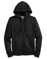 American Rag | Black Men's Full-zip Fleece Hoodie, Only At Macy's for Men | Lyst