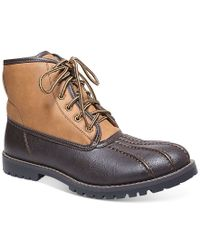 Steve Madden Brown Cornel Duck Boots for men
