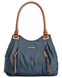 Calvin Klein Blue Dressy Nylon Shopper