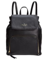 kate spade new york Black Cobble Hill Charley Backpack